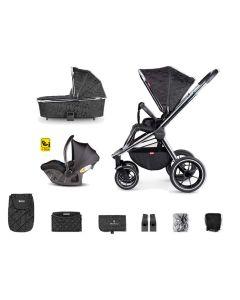 Venicci Tinum 3 in 1 Ultralight Travel System Camo Black