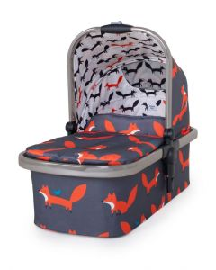 Cosatto Wow XL Carrycot - Charcoal Mister Fox