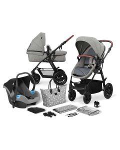 Kinderkraft XMoov 3 in 1 Travel System - Grey